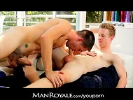 The HD porn video can demonstrate what kind of hot love passion can appear between two lovely boys