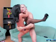 Japanese sex goddess Asa Akira takes it deep in the mouth and pussy