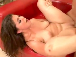 Delicious Carmella Diamond fucked in the hottest poses on the sofa