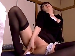 Day of mourning turns into an unforgettable fucking action for a sexy Japanese MILF