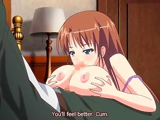 Another exciting hentai movie with buxom schoolgirl getting gaped hard