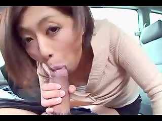 Cool porn video starring Japanese hottie Miku Natsukawa having sexual action with cameraman