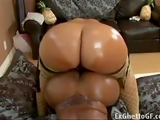 Big strap-on brings these big assed and huge titted Ebony ladies a lot of exciting pleasure