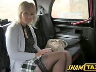 Kinky taxi driver fucking an awesome MILF and bringing her unmatched pleasure
