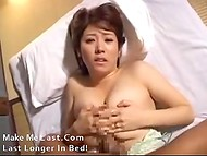 Big-breasted Asian coquette gets fingered really hard by her lovely boyfriend 10