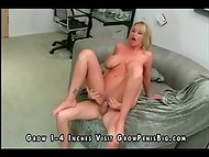 Gorgeous lady with huge boobs loves sucking yummy cocks and fucking hard
