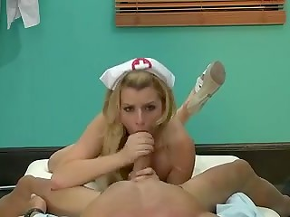 Cute nurse Lexi Belle really loves her work and is ready to do everything to satisfy her patients