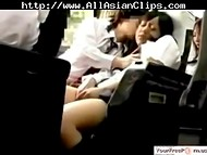 Hidden camera recorded lewd footage of young Japanese student giving handjob to her bf