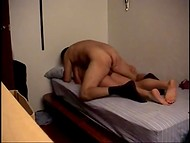 Amateur Latina couple surprises us with homemade fucking scene in the bedroom