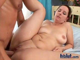 Lady needs to suck and ride her friend's dick in order to reach multiple orgasms