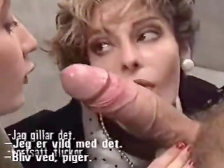 Vintage women giving great blowjobs