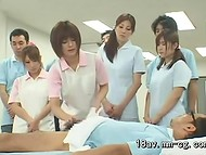 Nowadays, Japanese Medical University carrying out experiments on the naked students