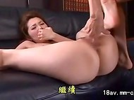 Asian students came to the house of the law abiding citizen and penetrated hard his young wife 5