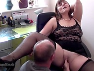 British wife gets fucked by her husband after oral foreplay in the homemade movie