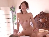 Masseur can not stand the temptation when he saw this beautiful Asian girlfriend