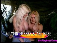 New TV show about the most lewd house of orgy, old sex and funny sexual games