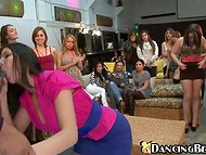 Unmatched chicks-party presents amazing ladies who present high-class blowjob happy stripper