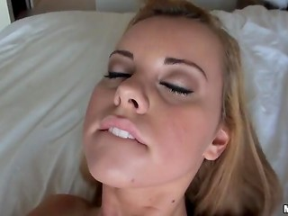 Charming young cutie was anally punished without any sorrow on the POV camera