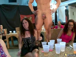 Dancing strippers are brilliants of hen-parties because many chicks enjoy sucking acts