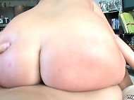 Good POV film presented by young coquette who gives a blowjob and gets fucked by dude   6