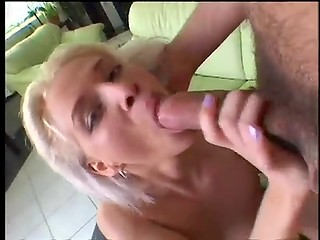 Kyra showing how she owns oral skills