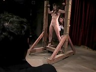 Poor girl was kidnapped and tortured by a band of the sadistic perverts in the BDSM video