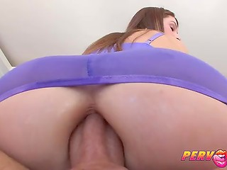 Incredible dirty bitch likes to feel the double power in her seasoned deep slits