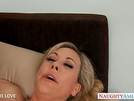 Non-standard sex methods were used by lustful teacher Brandi Love to check student's knowledge  9