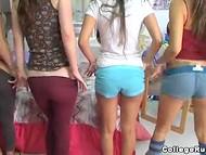 Трое прекрасных девушек кротко доставляют друг другу удовольствия 6