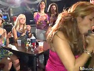 Dancing Bear club's strippers easily spicing up and please whole crowd of the horny female customers   11