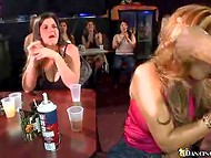 Dancing Bear club's strippers easily spicing up and please whole crowd of the horny female customers   4