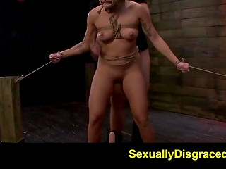 Asian hottie Mena Li was tied up by crazy man and drilled hard in the basement