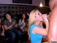 Stripper gets fucked and oral