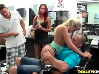 Easy money turned modest young girl into a perverted whore without any shame