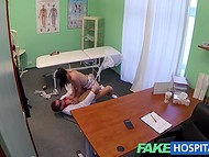 Lusty doctor asks for a blowjob as a payment for professional medical examination   10
