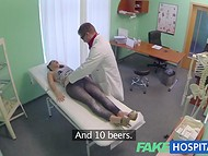Lusty doctor asks for a blowjob as a payment for professional medical examination   3