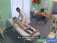 Lusty doctor asks for a blowjob as a payment for professional medical examination   5