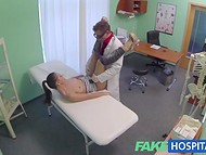 Lusty doctor asks for a blowjob as a payment for professional medical examination   7
