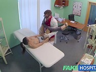 Lusty doctor asks for a blowjob as a payment for professional medical examination   8