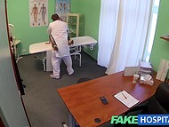 Lusty doctor asks for a blowjob as a payment for professional medical examination   9