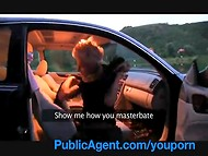 Public agent: most of the girls is ready to fuck for cash 11