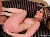 Always hot and horny MILF Courtney gets banged by her man's best friend 9