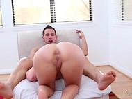 Good-looking MILF named Cherie Deville shows her magnificent fucking skills  5