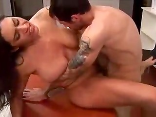 Lucky office pussy gets eaten and screwed